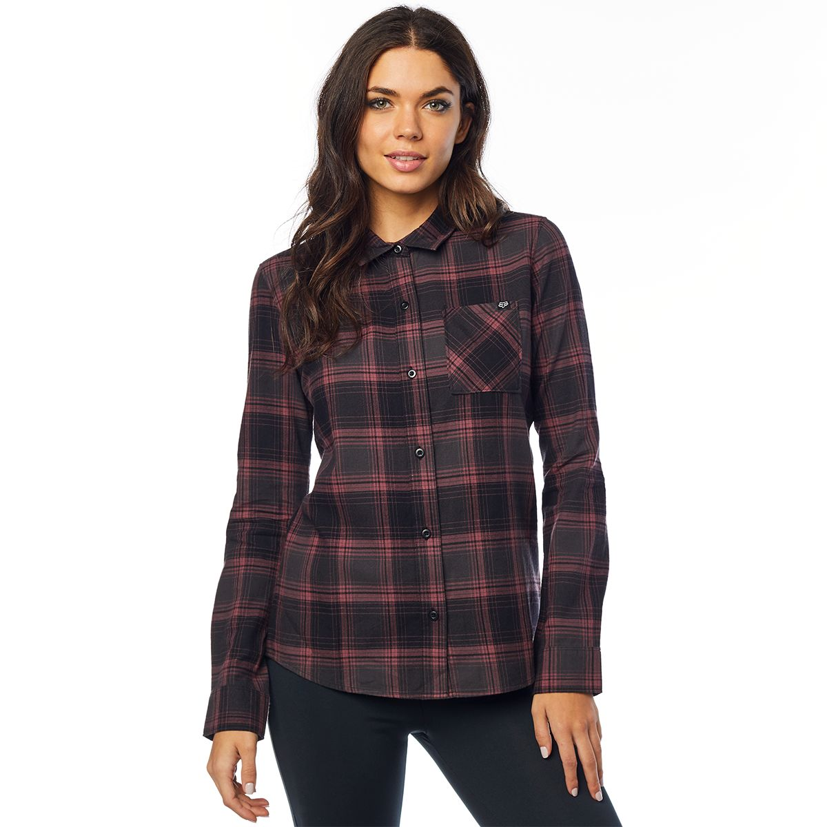 KICK IT LS FLANNEL women's shirt