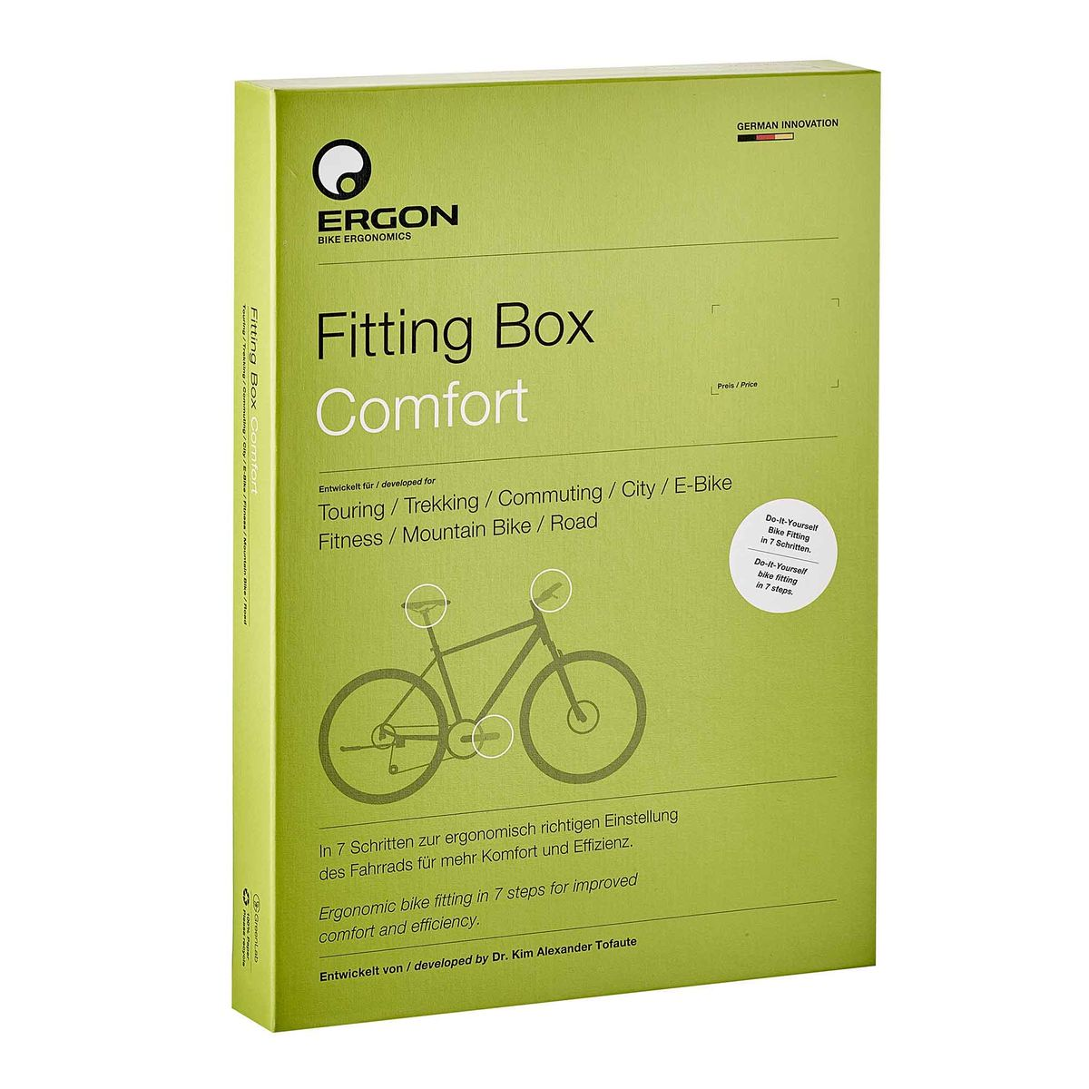 Fitting Box Bike adjustment aid