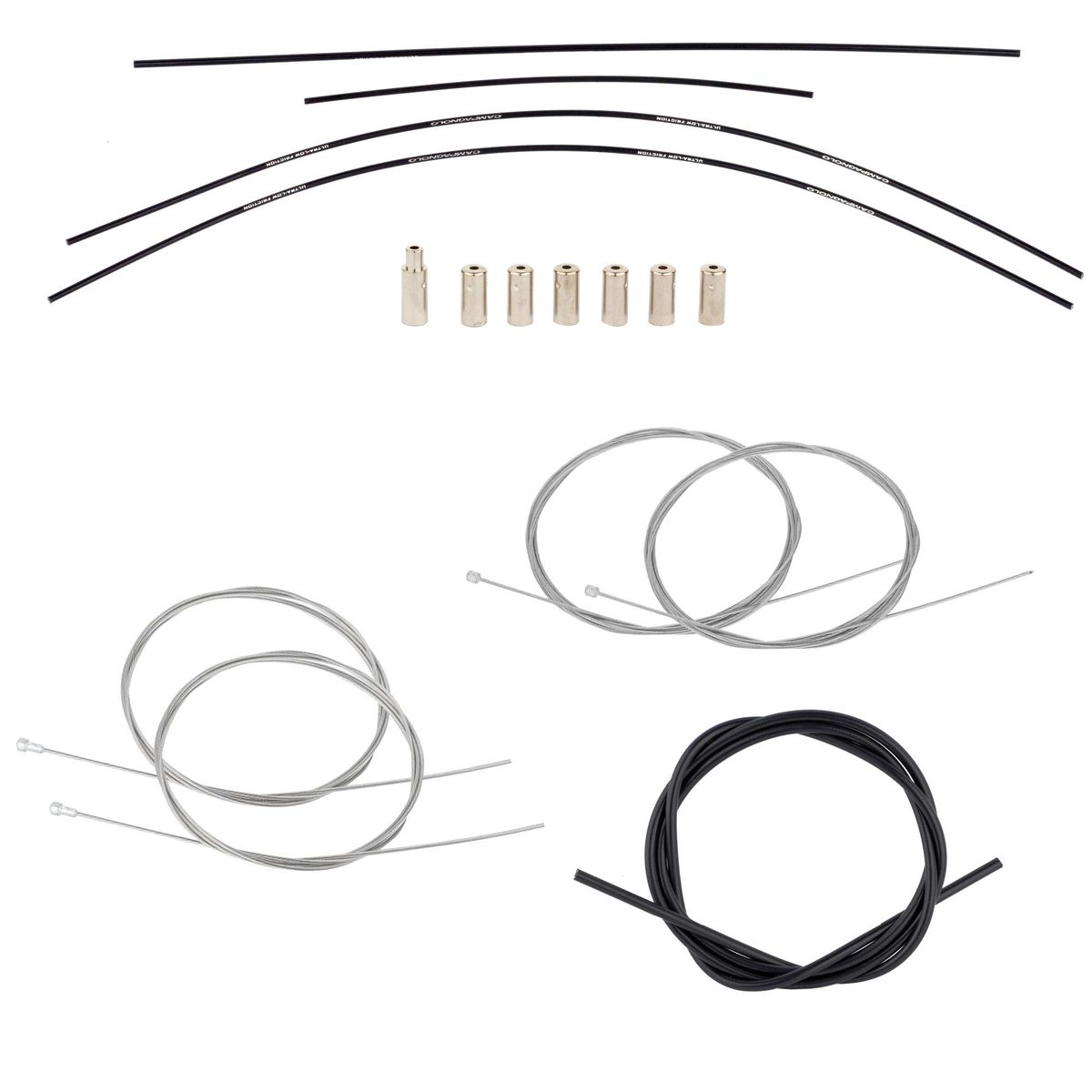 Record CG-ER600 brake/shift cable set