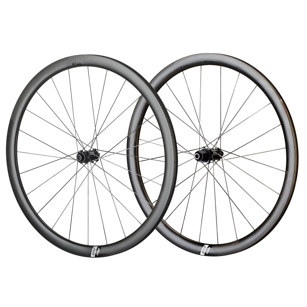 ROSE RC-Forty Disc Carbon Road Wheels | Hjulsæt