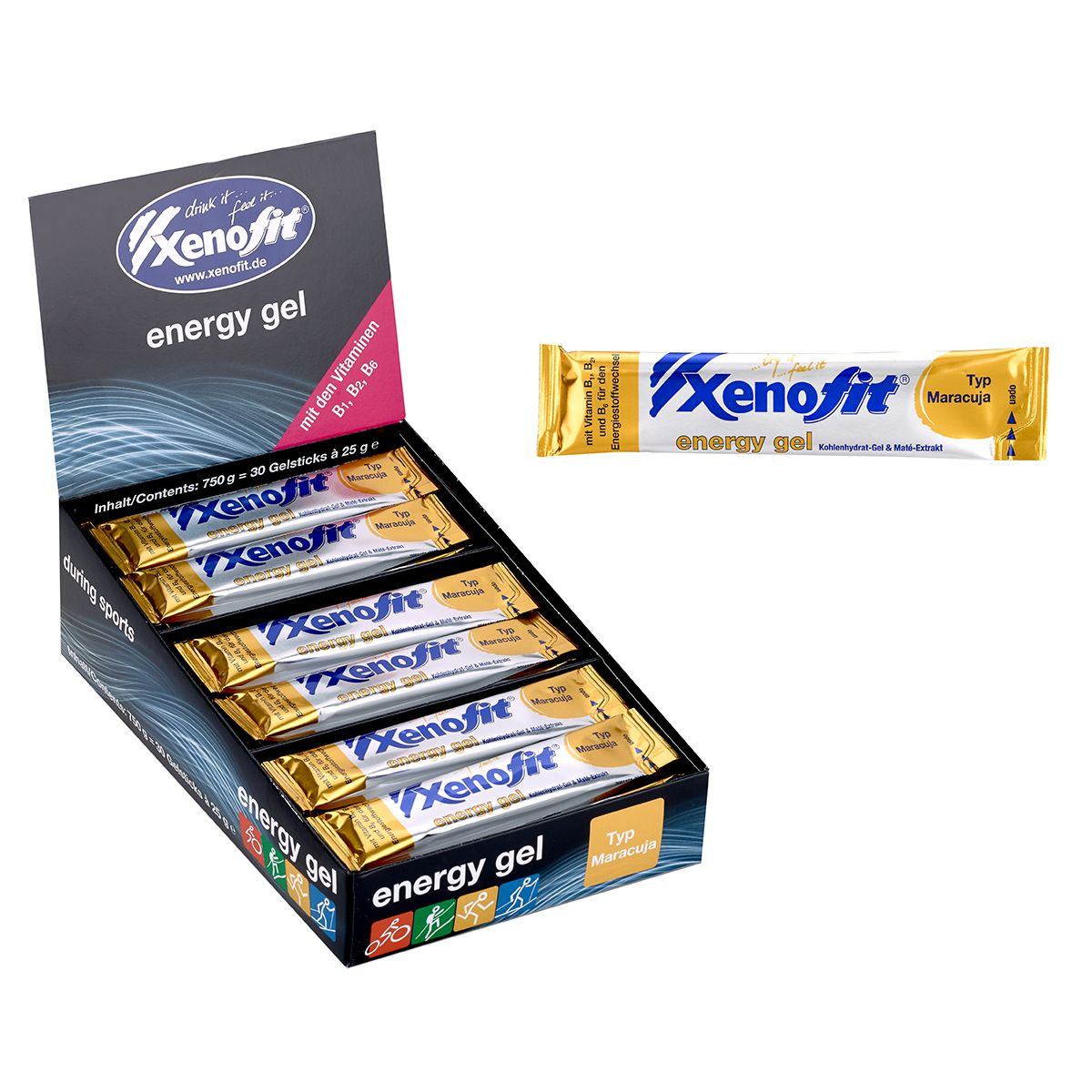 Xenofit carbohydrate gel | item_misc