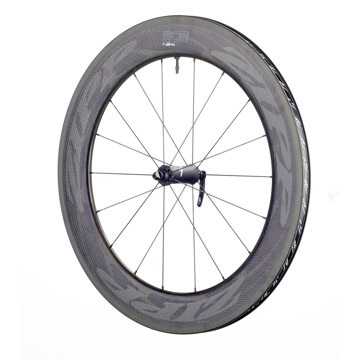 "808 NSW Carbon Clincher 28""/700C road front wheel"