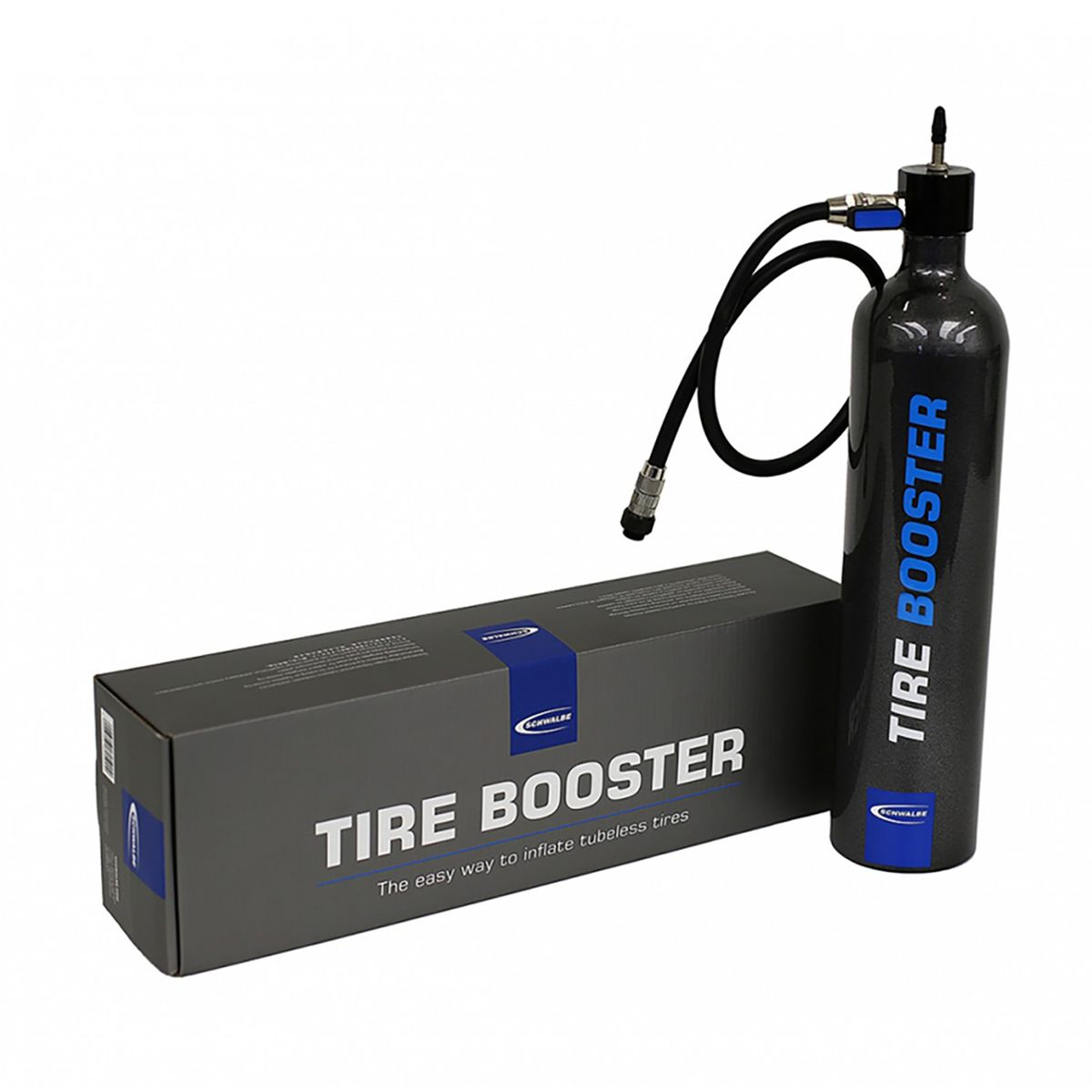 Tire Booster for tubeless assembly