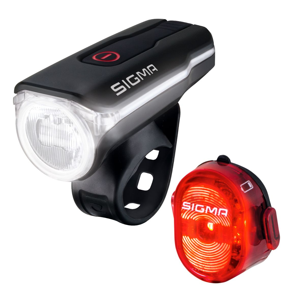 Aura 60 front light / Nugget II rear light set