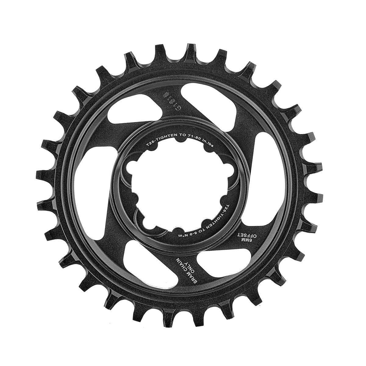 SRAM X-SYNC Direct Mount Boost Chainring Aluminium, 11 speed, 3mm Offset | Klinger