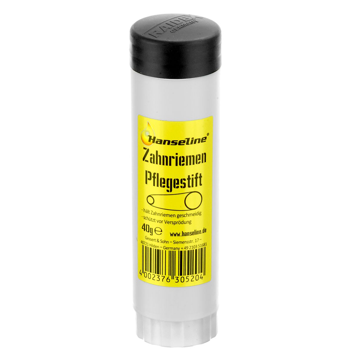 Hanseline Drive belt care stick | polish_and_lubricant_component