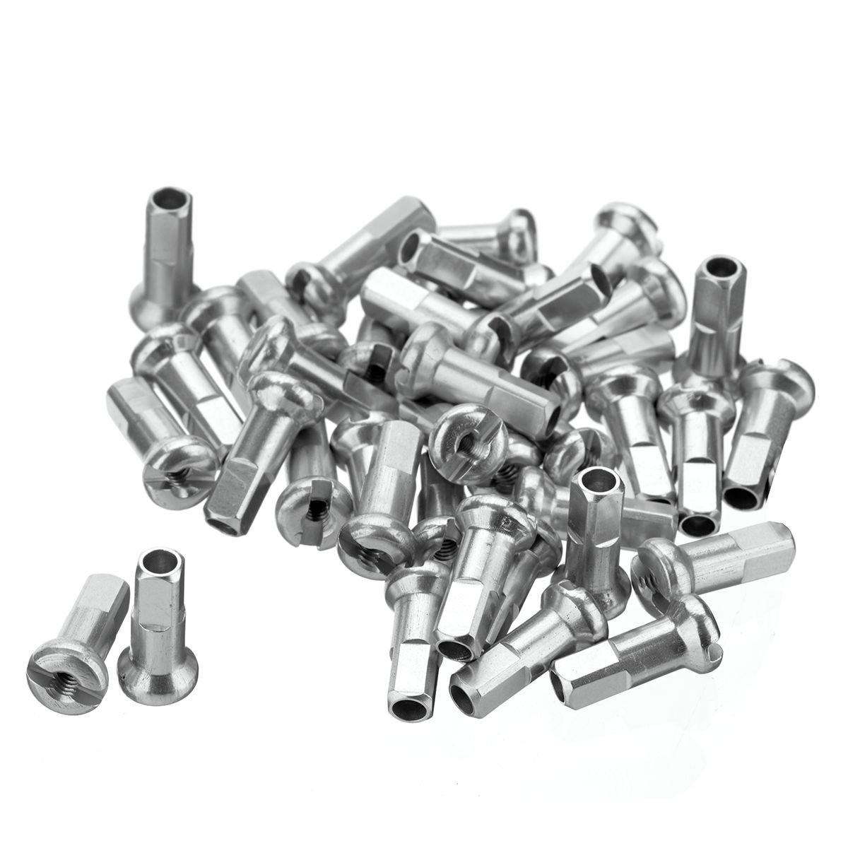 Aluminium Spoke Nipples / 40 pcs