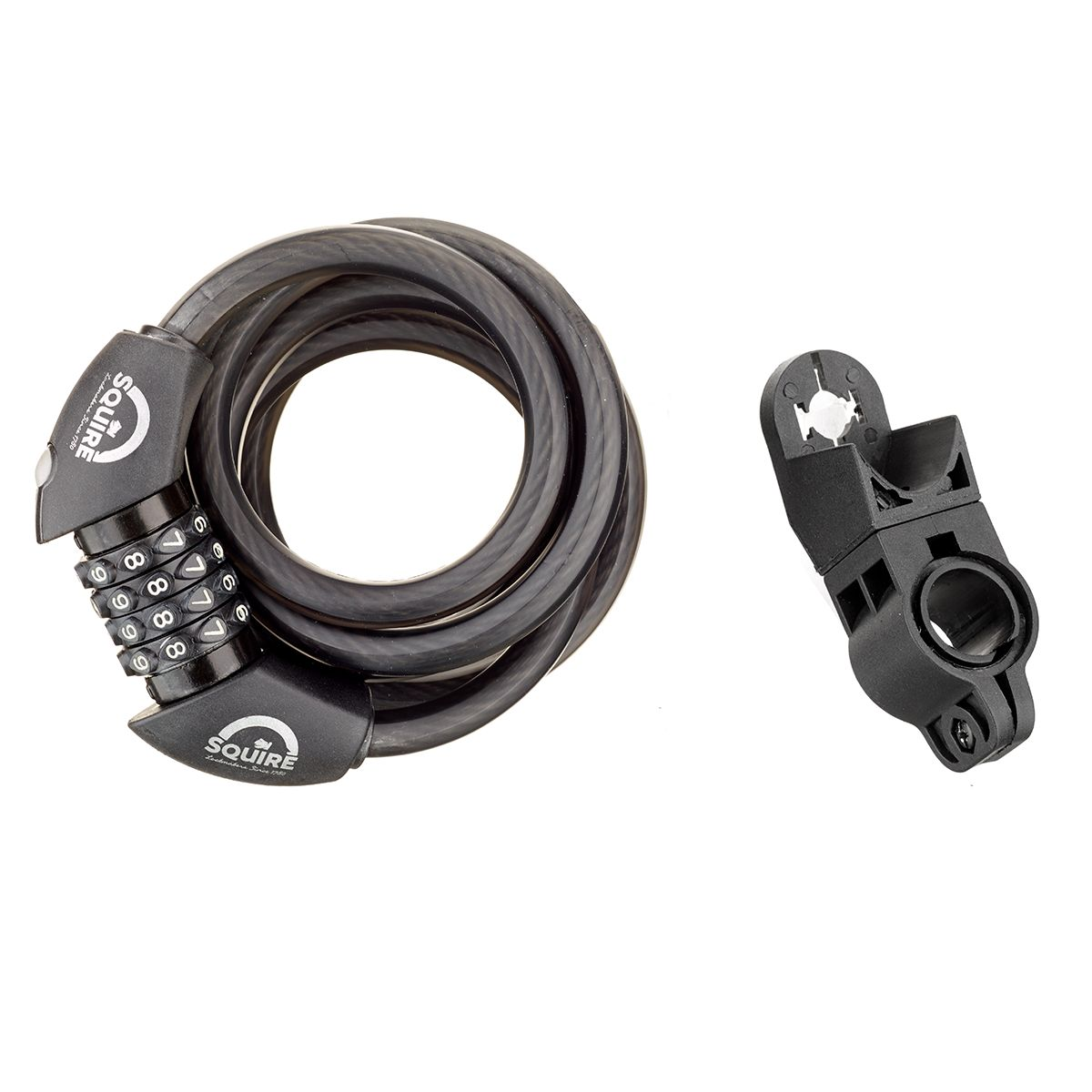 Squire Zenith ZR Combi 12/1800 Cable Lock with LED Light | Løse låse