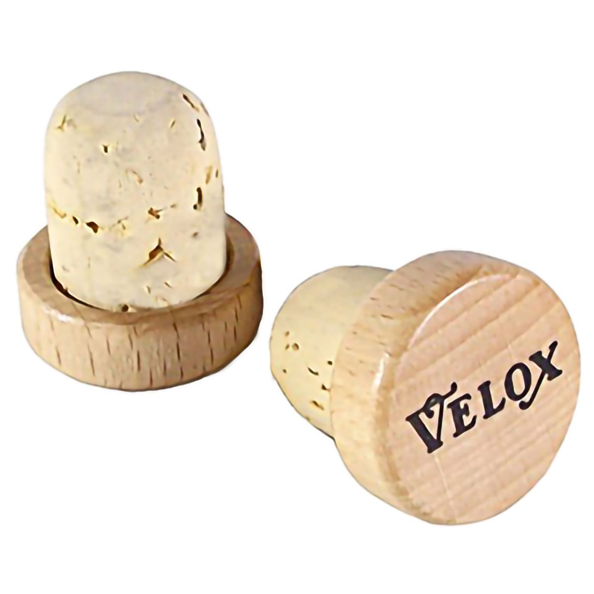 Velox Vintage wooden cork bar end plugs | Misc. Handlebars and Stems
