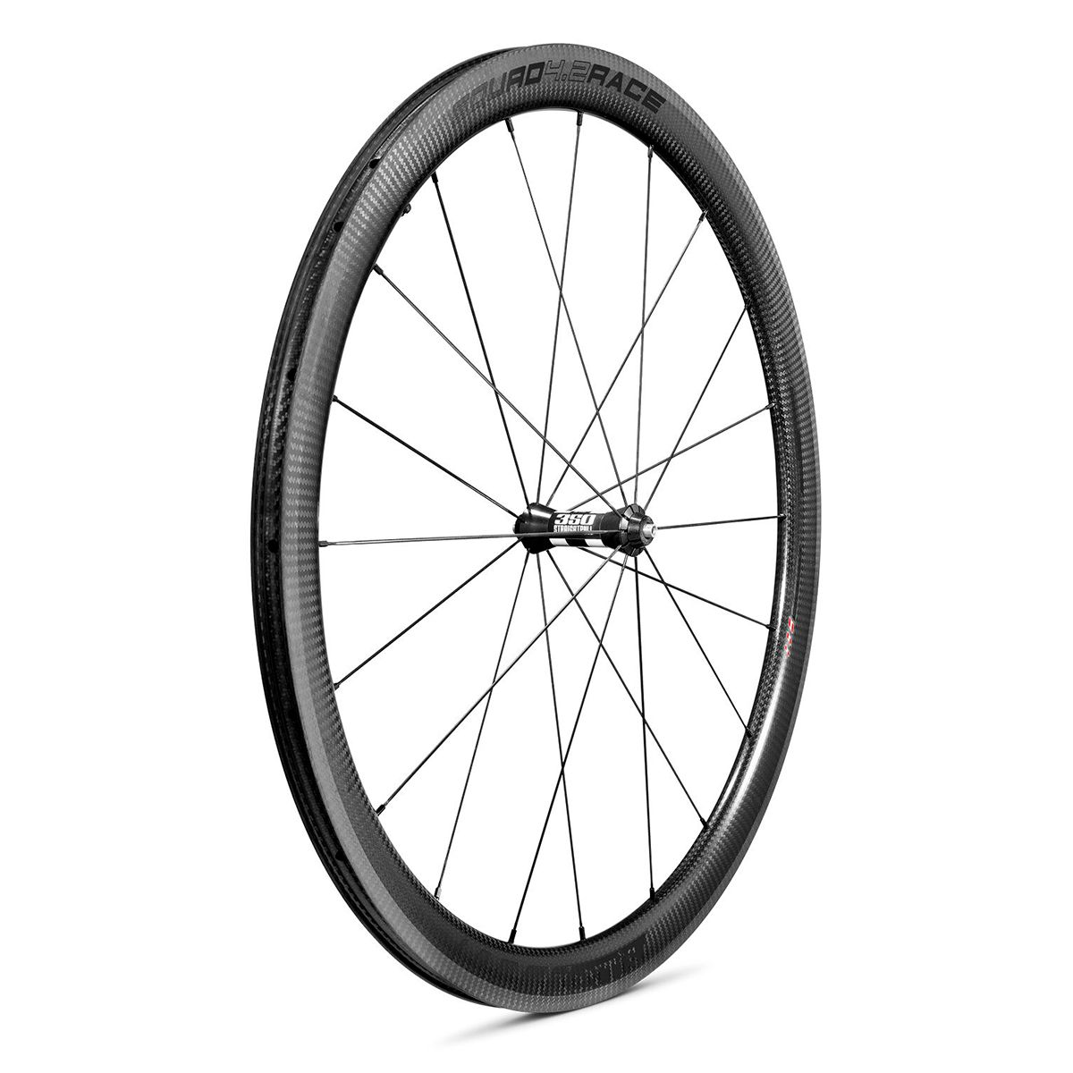 "SQUAD 4.2 RACE Carbon Front Wheel 28""/700C Clincher – Rim Brake"