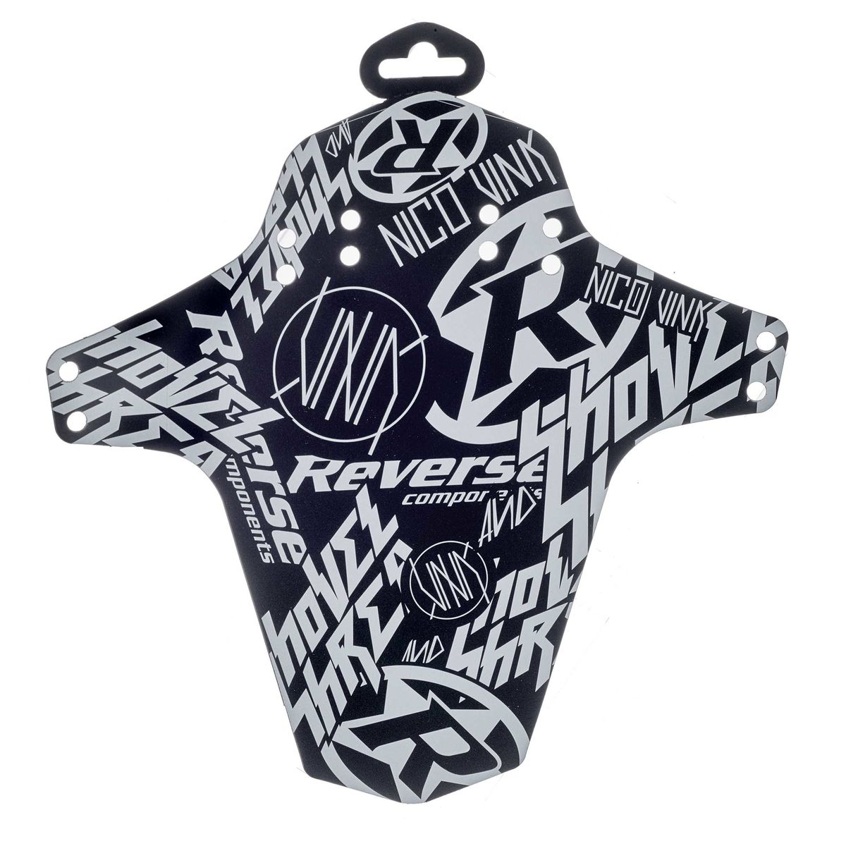 REVERSE Nico Vink Stickerbomb mudguard for suspension fork or rear wheel
