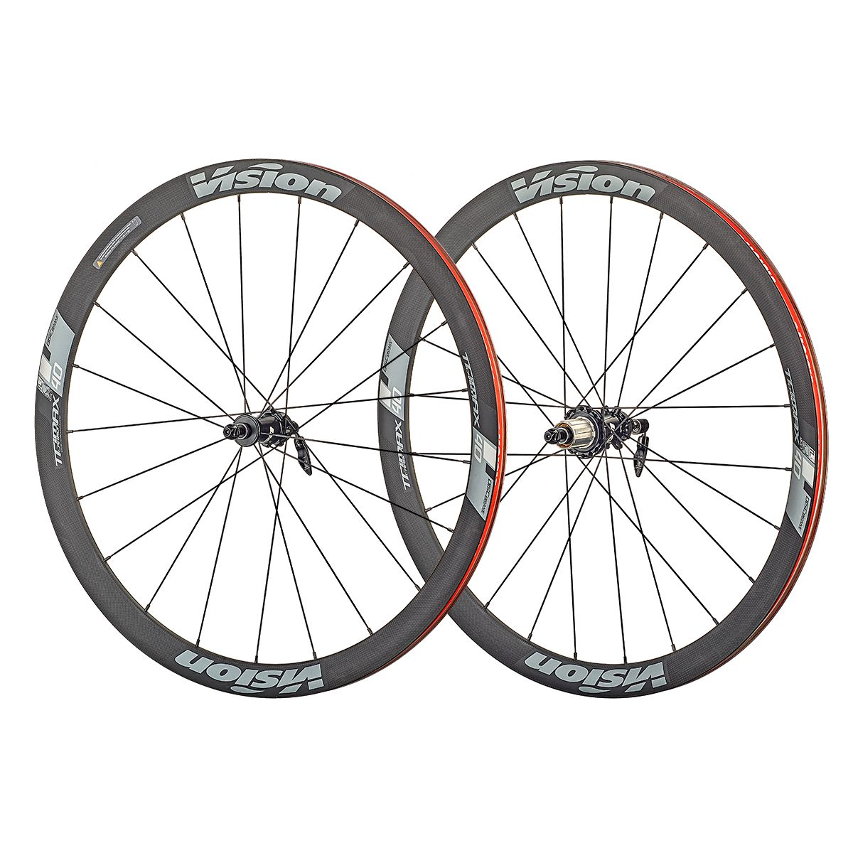 "Trimax Carbon 40 Disc Wheels 28"" CL Shimano"