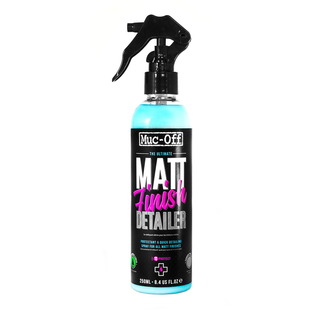 Matt Finish Detailer protectant and quick detailing spray