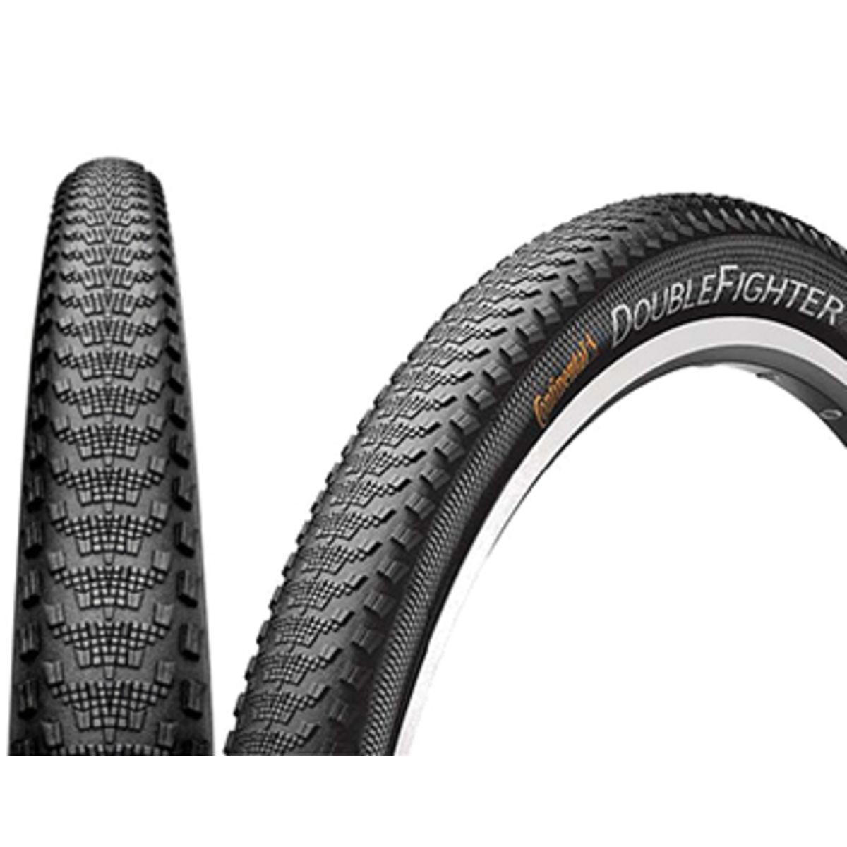 Continental Bike Tires >> Continental Double Fighter Iii Sport Mtb Tyre Clincher