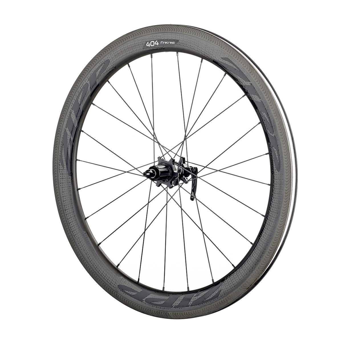 "404 Firecrest Carbon Clincher 28""/700C road rear wheel"
