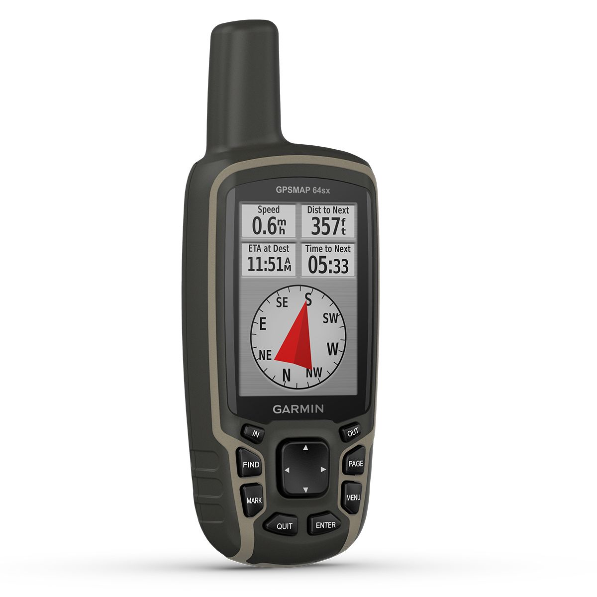 Garmin GPSMAP 64sx GPS Device | Computer Battery and Charger