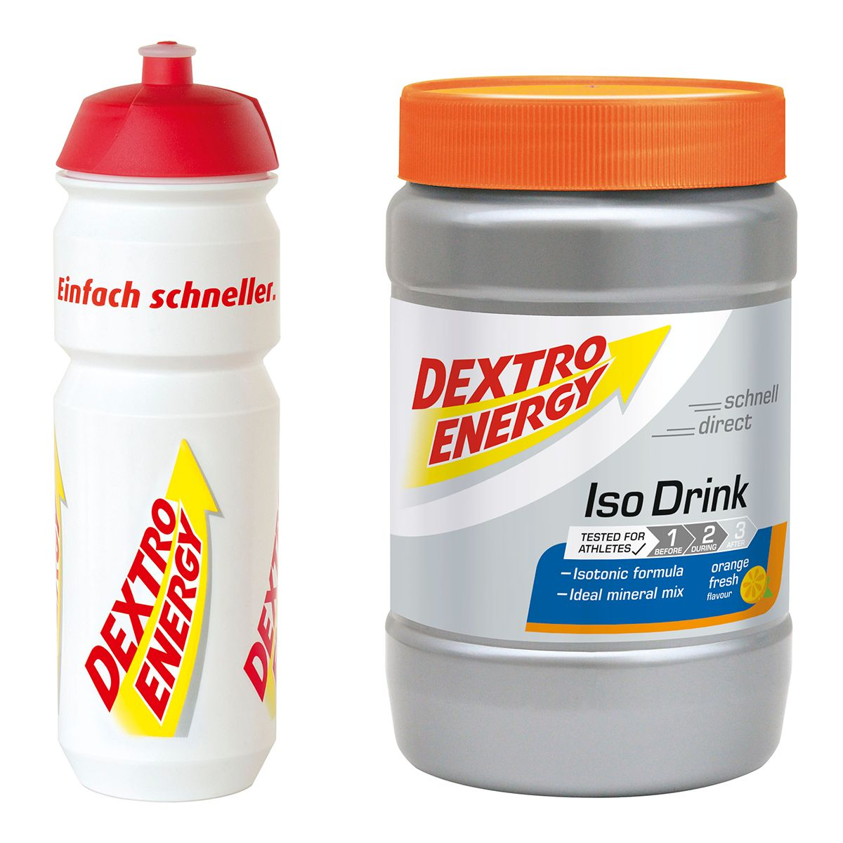 Iso Drink Set with Water Bottle