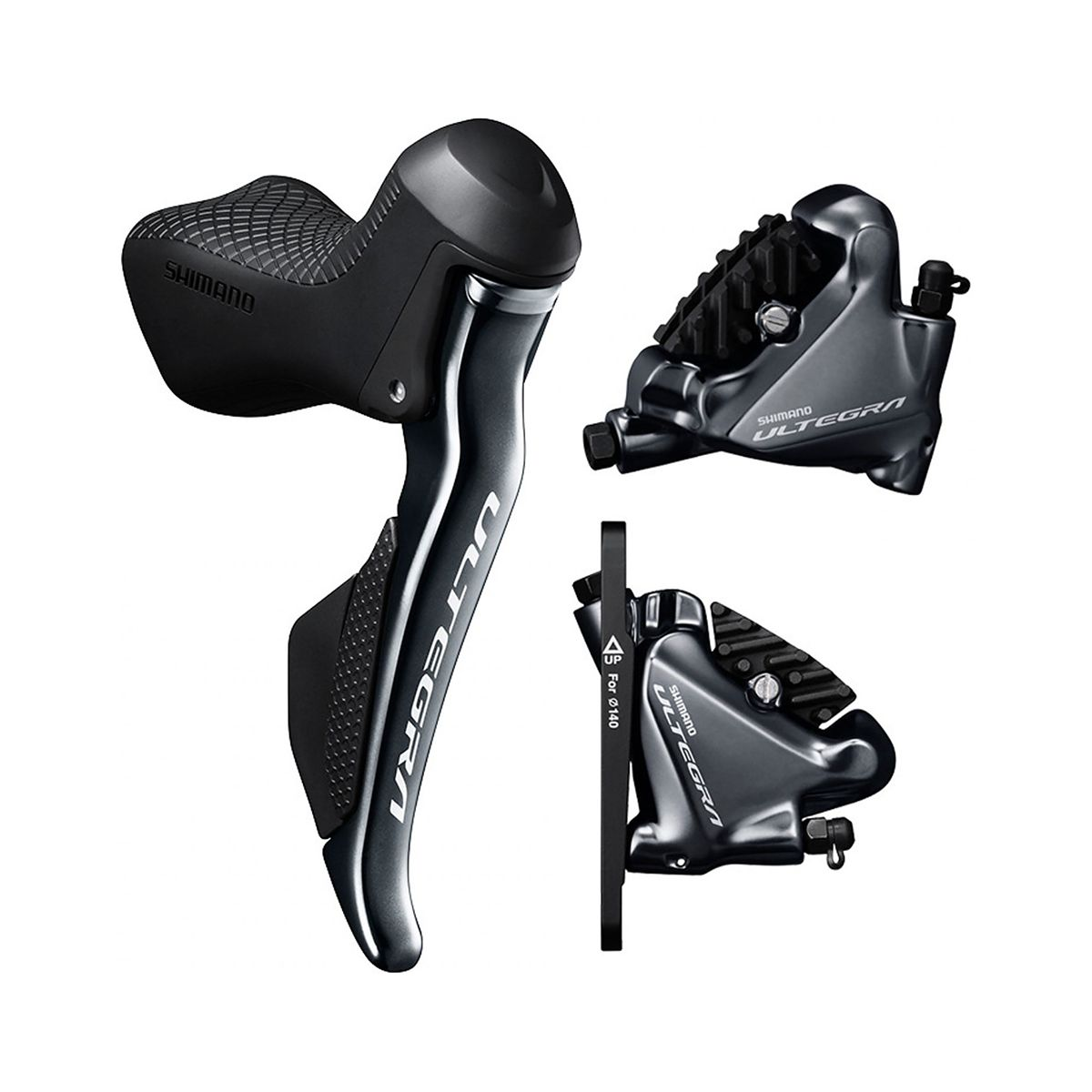 SHIMANO Di2 ST-R8070 brake/shift lever combination + BR-R8070 hydraulic  disc brake