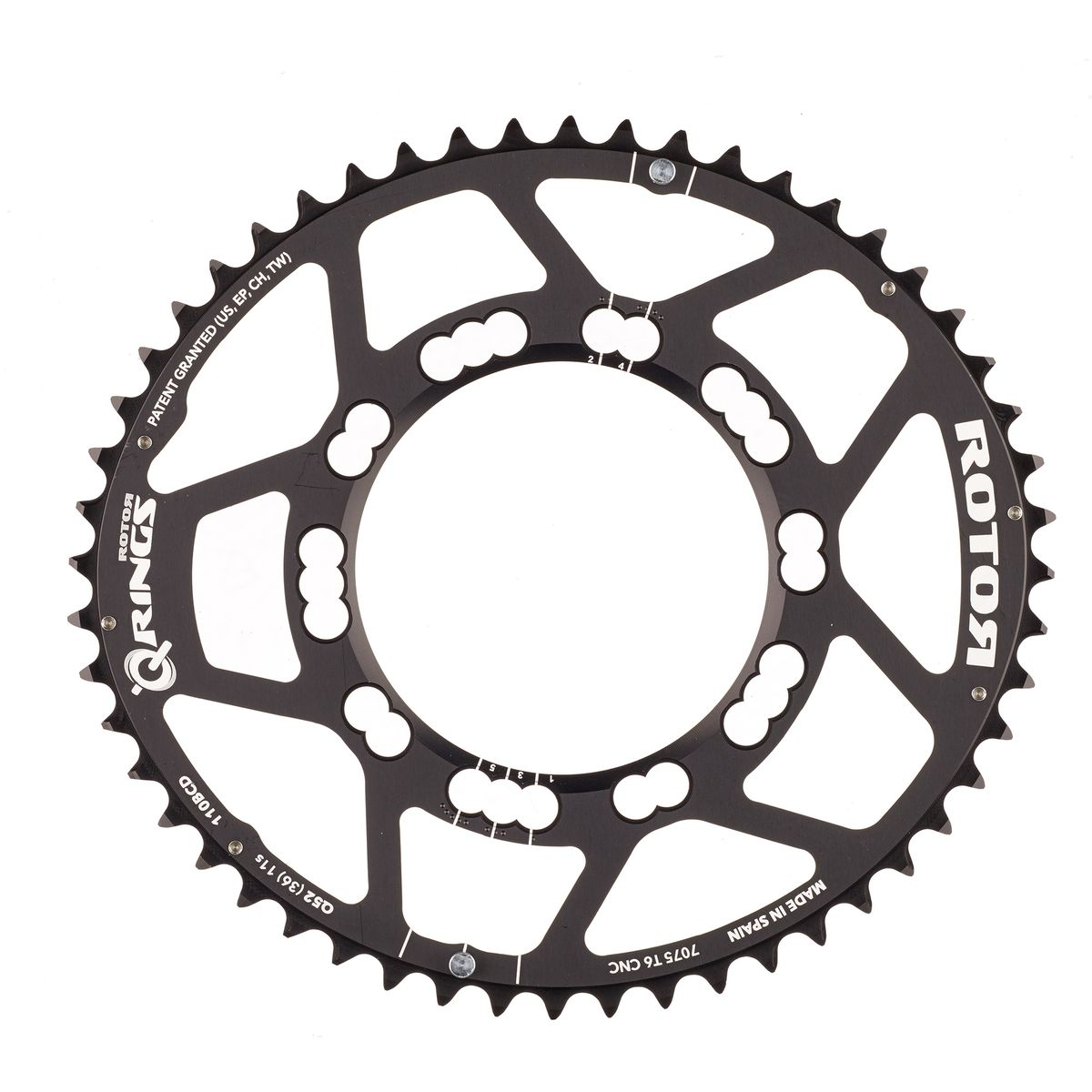Q-Rings 52-tooth chainring 110mm bolt circle