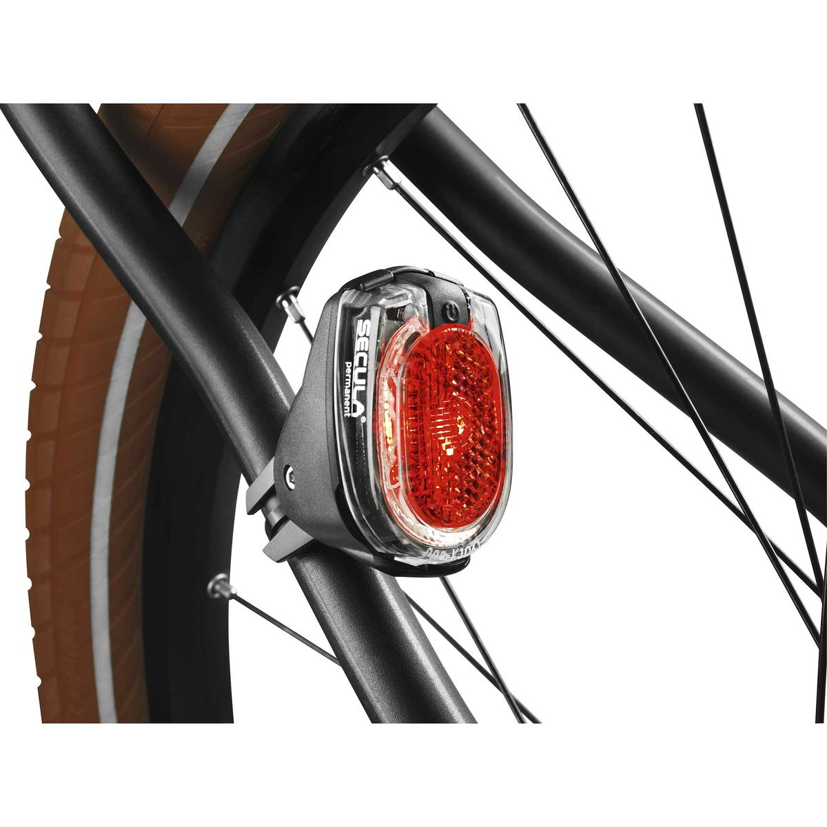 Secula permanent battery tail light