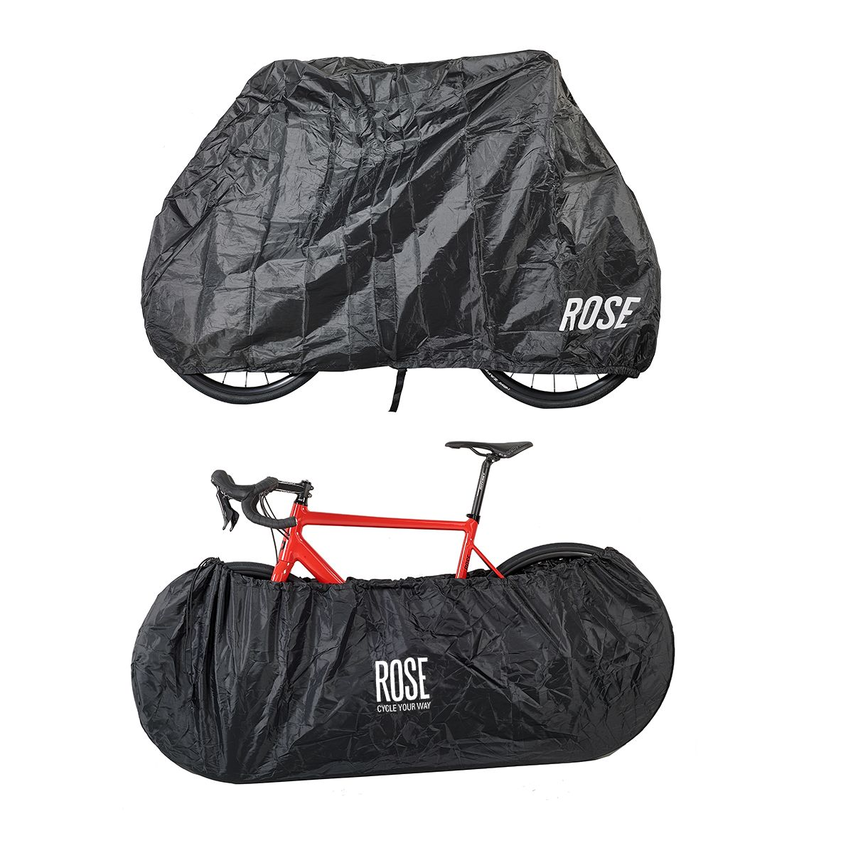ROSE Cycle your way protective bike cover set - all-round - | Bike garage