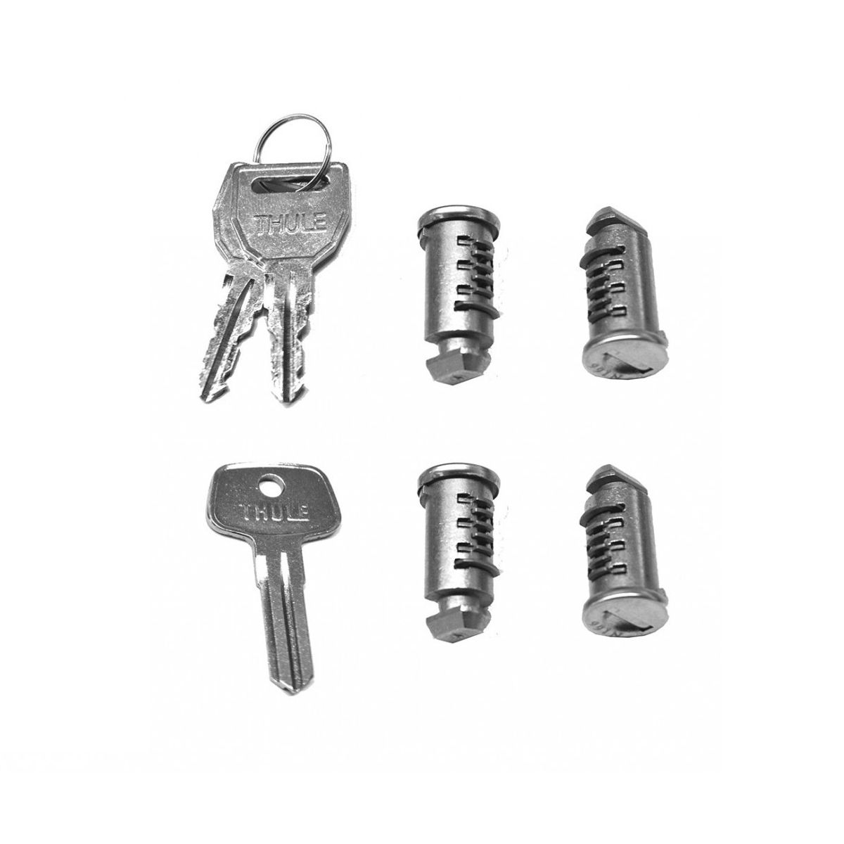 One-Key System 4 lock cylinder