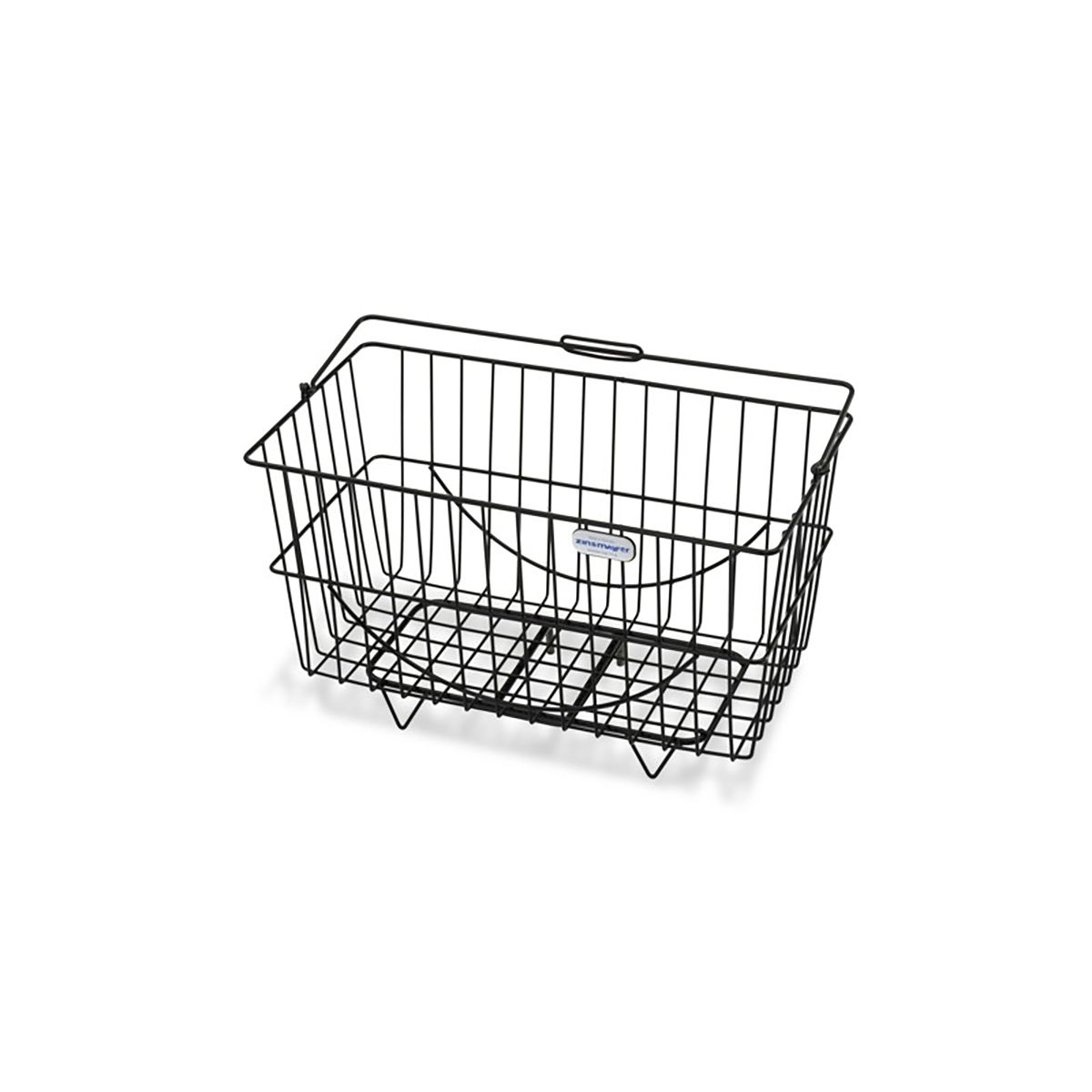 front/rear bicycle basket