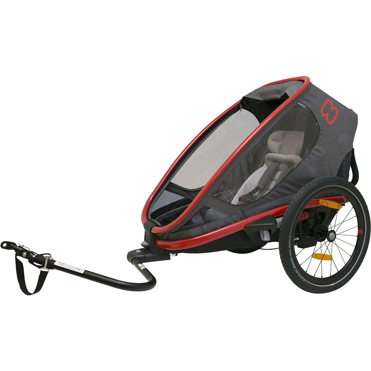 HAMAX OUTBACK ONE Child Carrier | bike_trailers_component