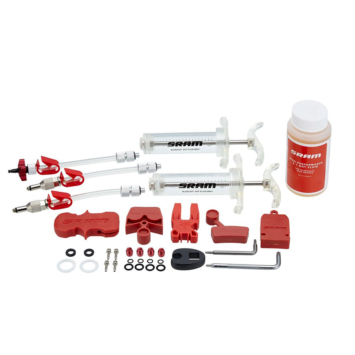 SRAM Professional bleed kit incl. brake fluid | polish_and_lubricant_component