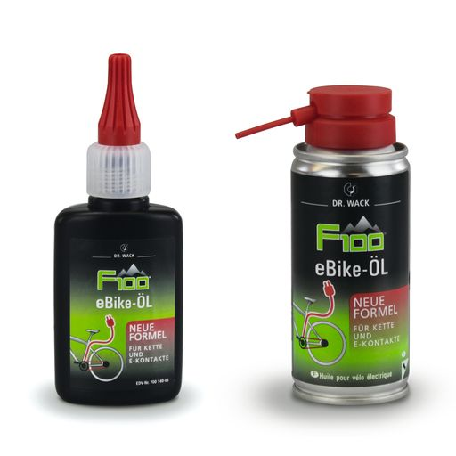 E-bike chain oil - new formula –