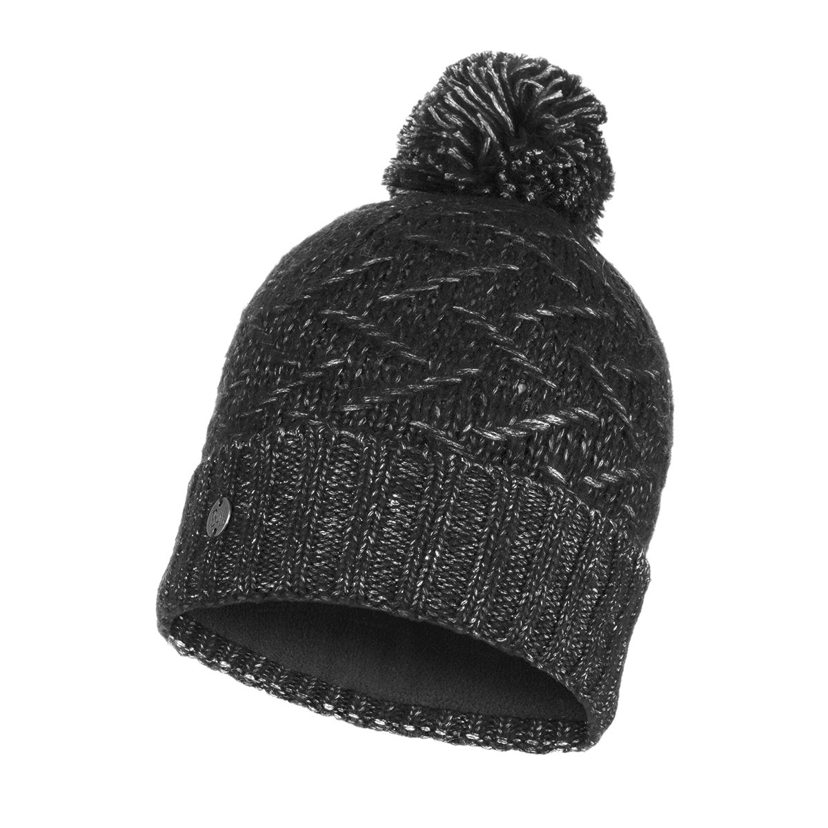 Ebba Knitted & Polar Fleece Hat