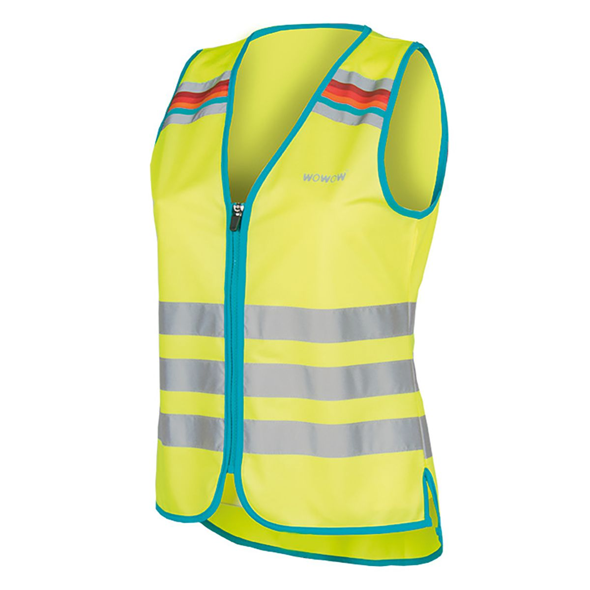 WOWOW LUCY JACKET YELLOW women's reflective vest | Veste