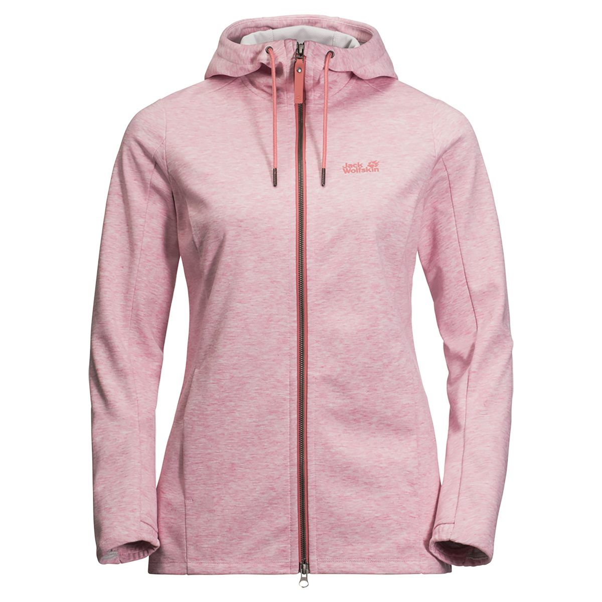 RIVERLAND HOODED JACKET W women's fleece jacket