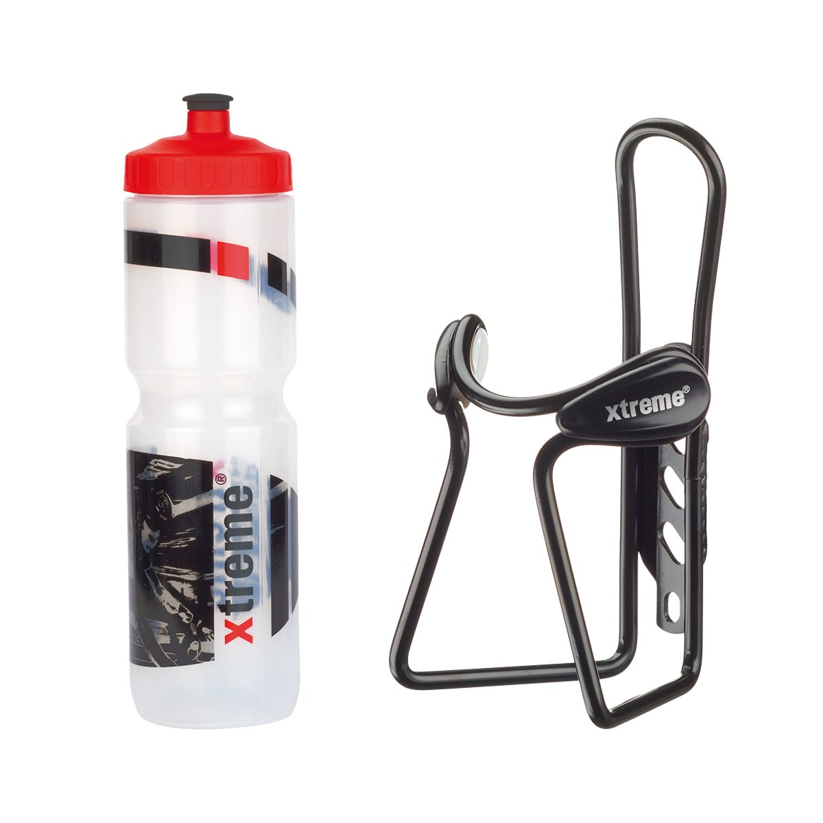 Hobby drinks bottle 1 L + Protector Cage bottle cage