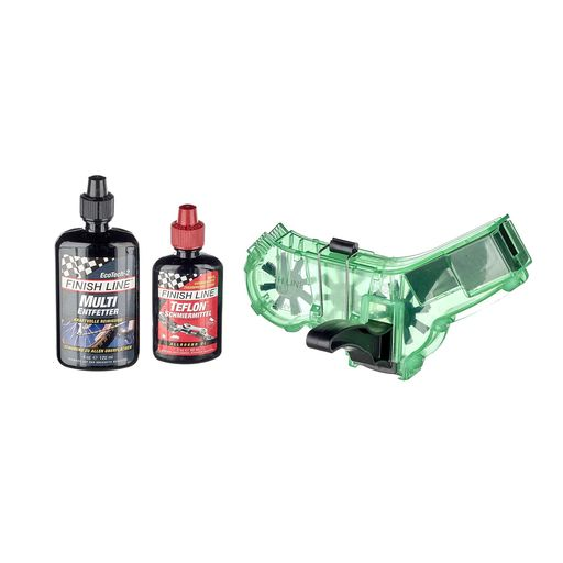 chain cleaner kit incl. Eco Tech and Teflon Plus