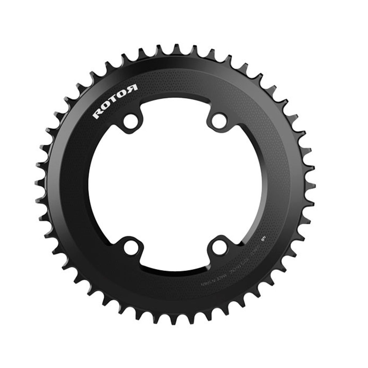 R-Rings Outer, Round Aero Chainring, Double for InSpider Power Meters, ALDHU Spider, SHIMANO – 110x4