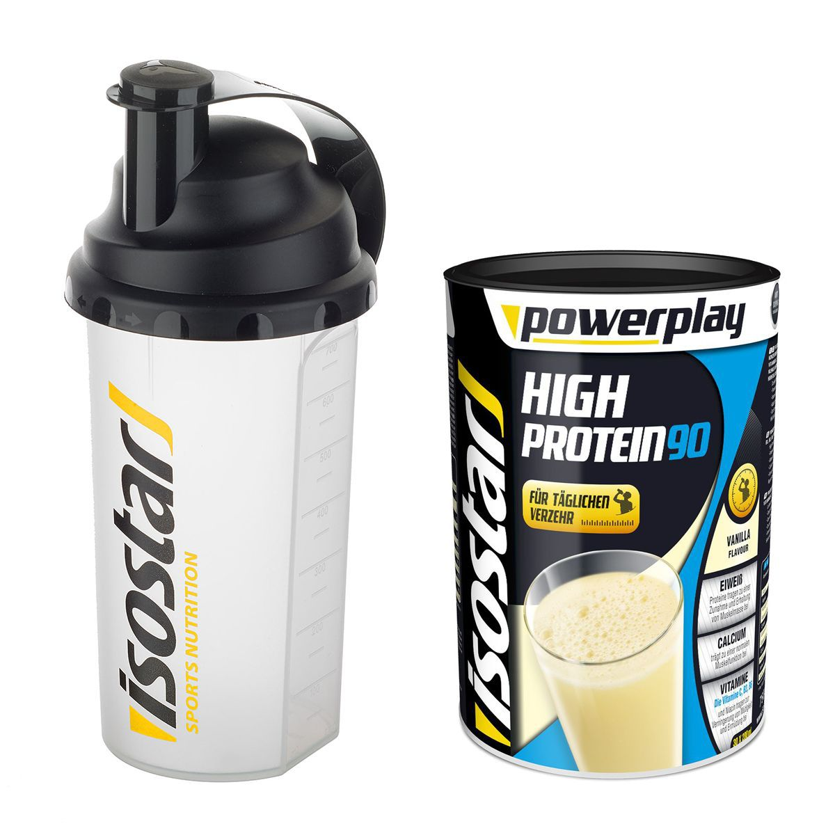 Isostar High Protein 90 set incl. shaker | Shaker