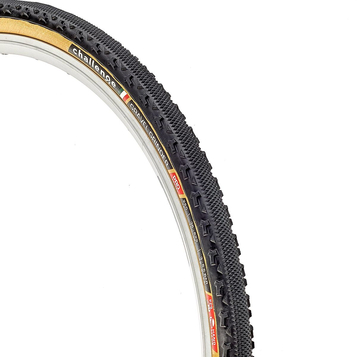 2 TIRES Challenge GRAVEL GRINDER PRO 260 TPI Bike Tire Clincher BLACK 700x36c