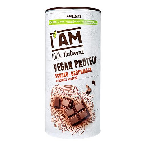 100% Natural Vegan Protein drink powder