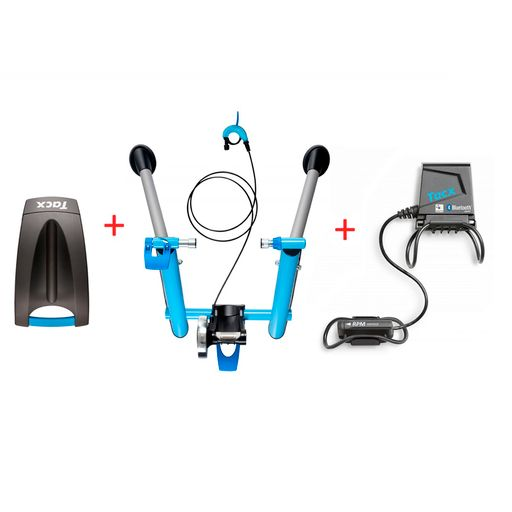 Blue Motion T2600 roller trainer Virtual Power Set