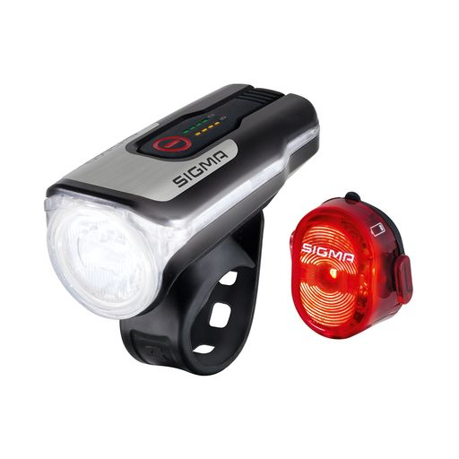 AURA 80 USB LED front light / NUGGET II rear light kit