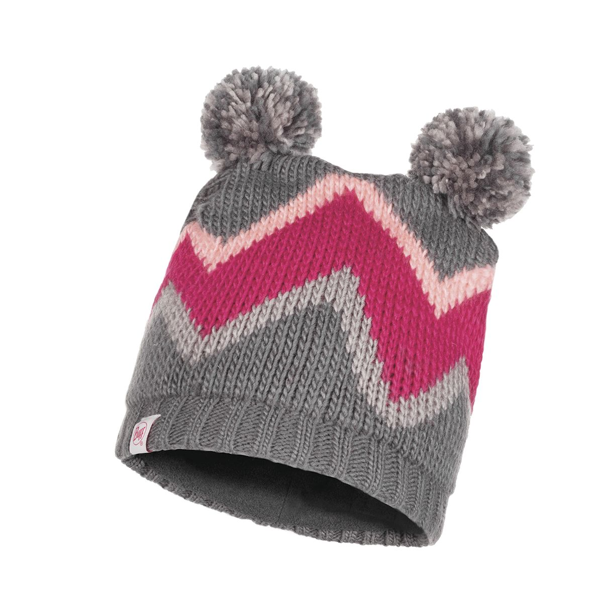 Arild Knitted & Polar Fleece Hat