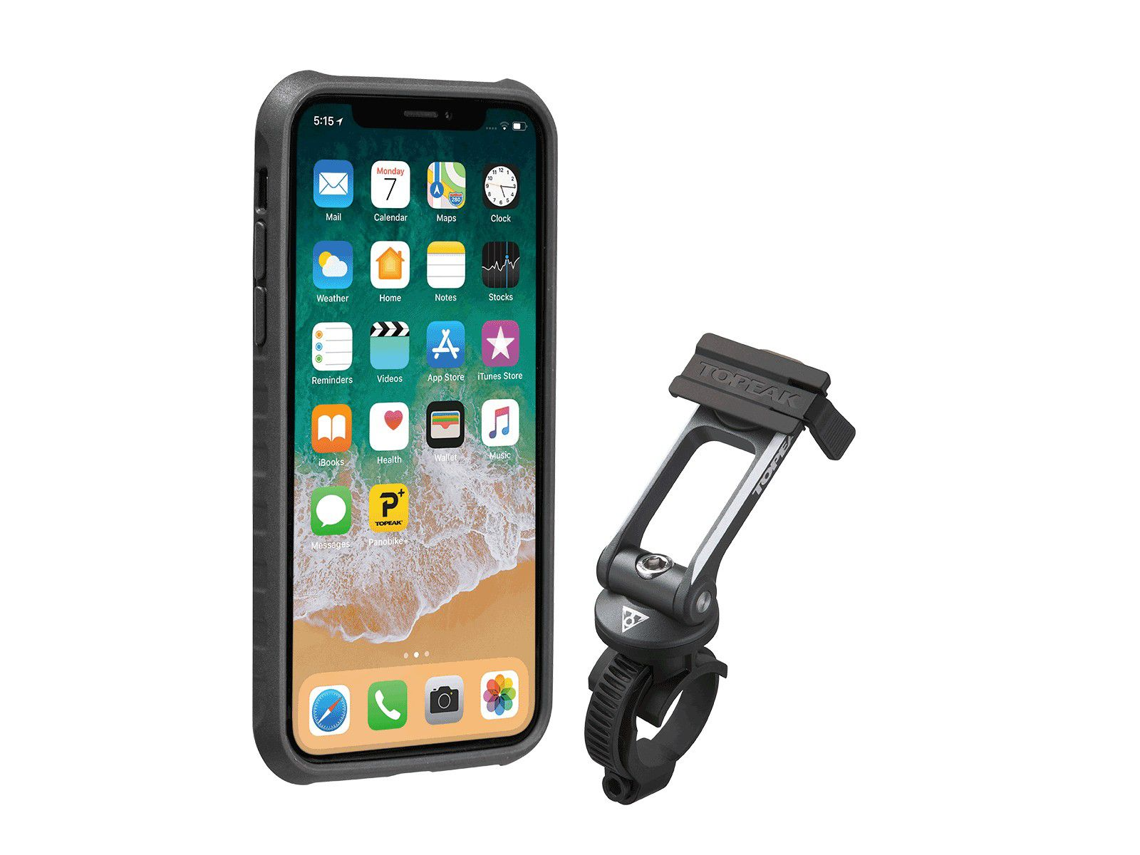 RideCase for iPhone X/XS incl. RideCase Mount