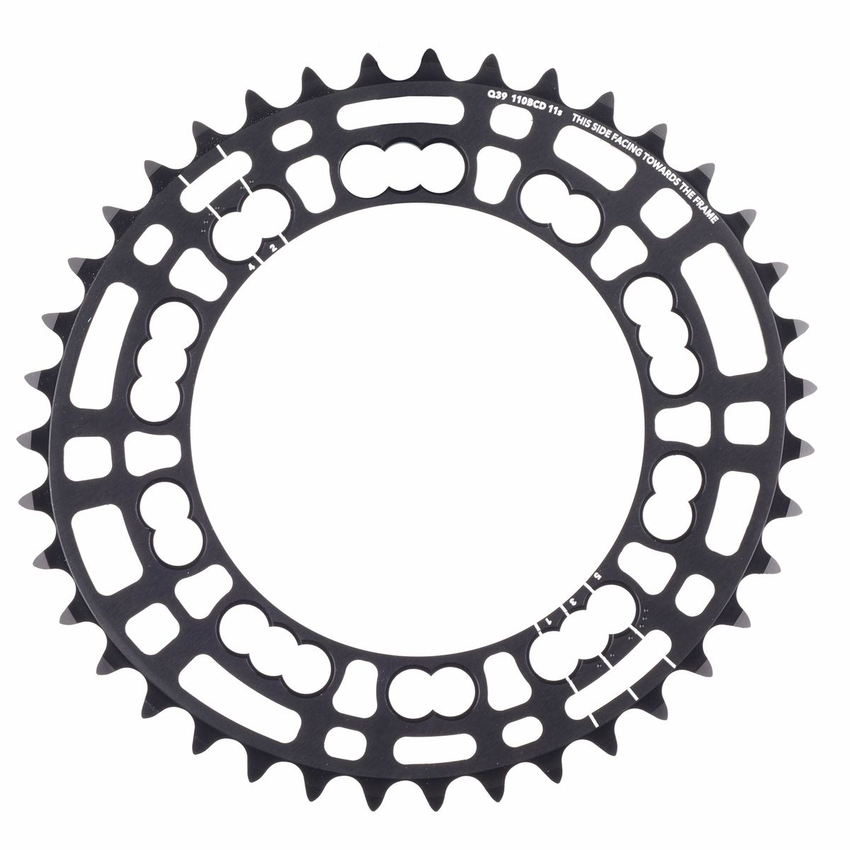 Rotor Q-Rings 39-tooth chainring | Klinger