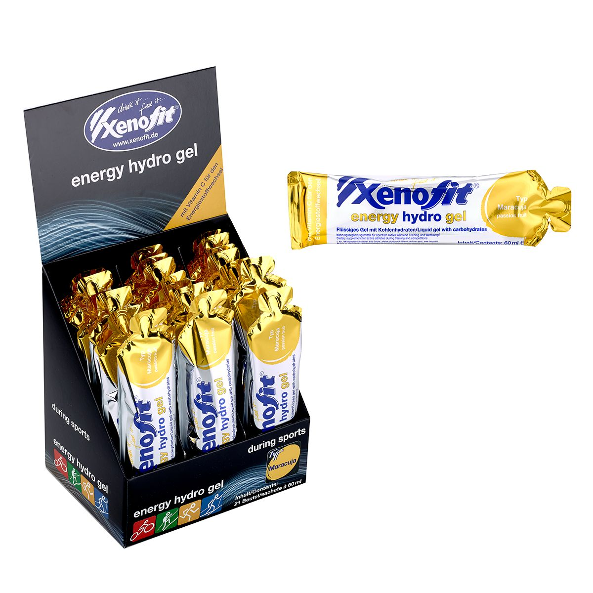 Xenofit carbohydrate gel drink | item_misc