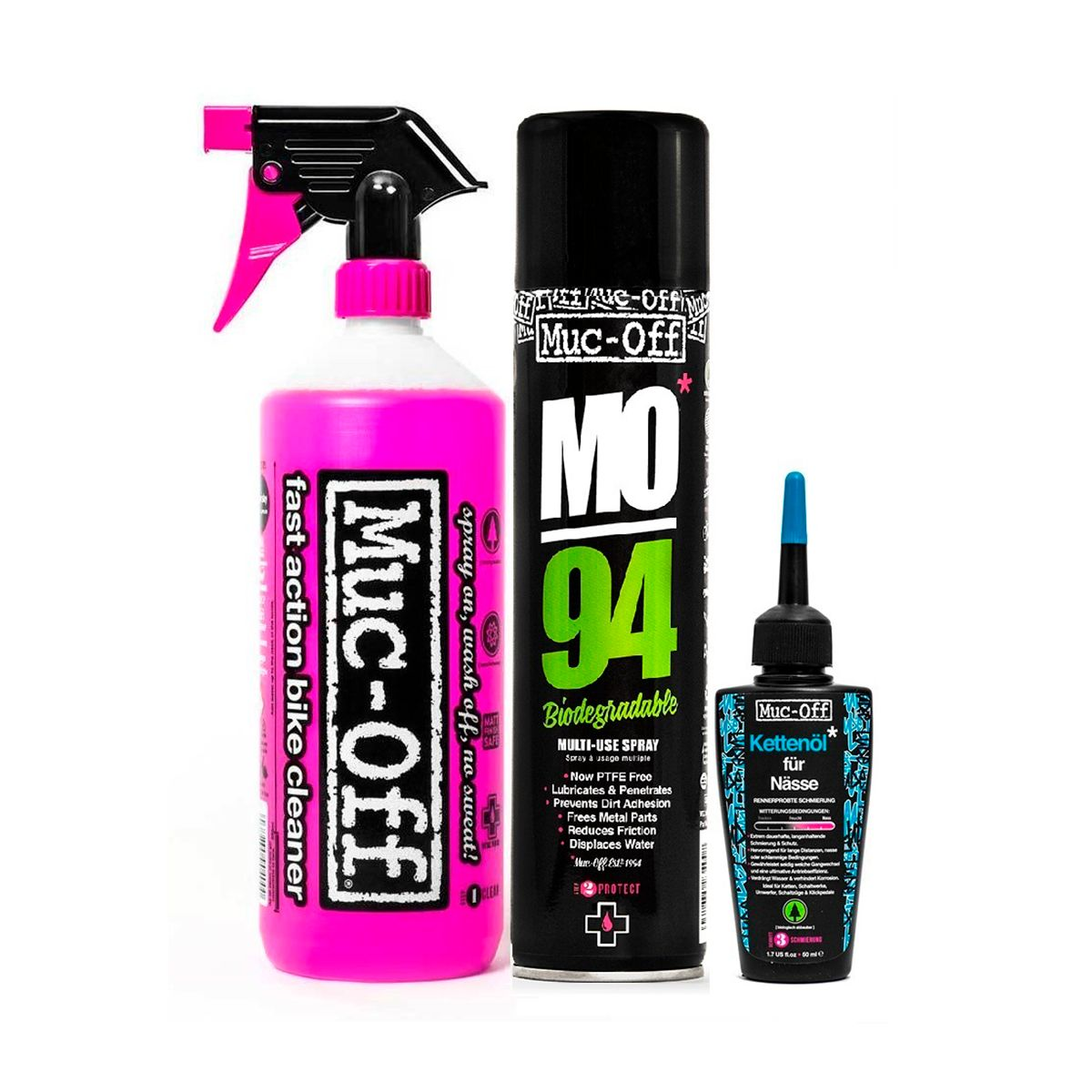 Wash Protect and Wet Lube Cleaning Kit