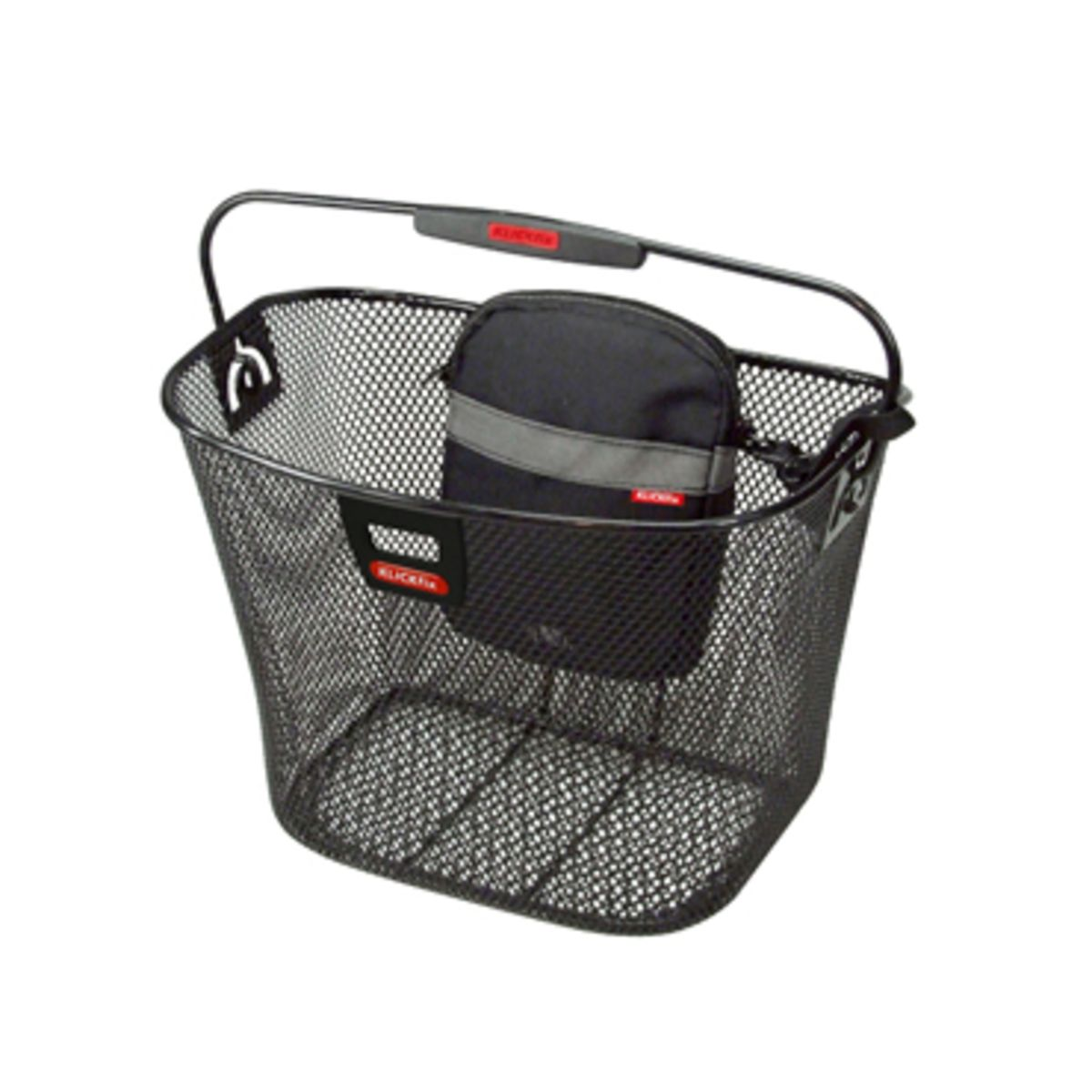 KLICKfix UNI KORB front bicycle basket with light bracket | Cykelkurve