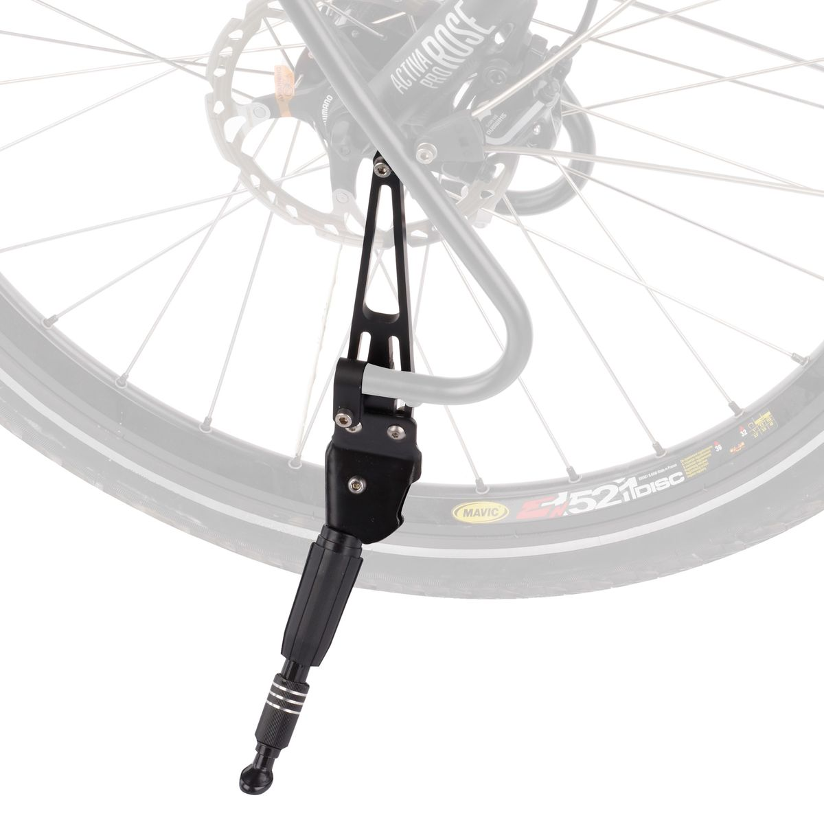 Tubus side kickstand for lowriders   Stands