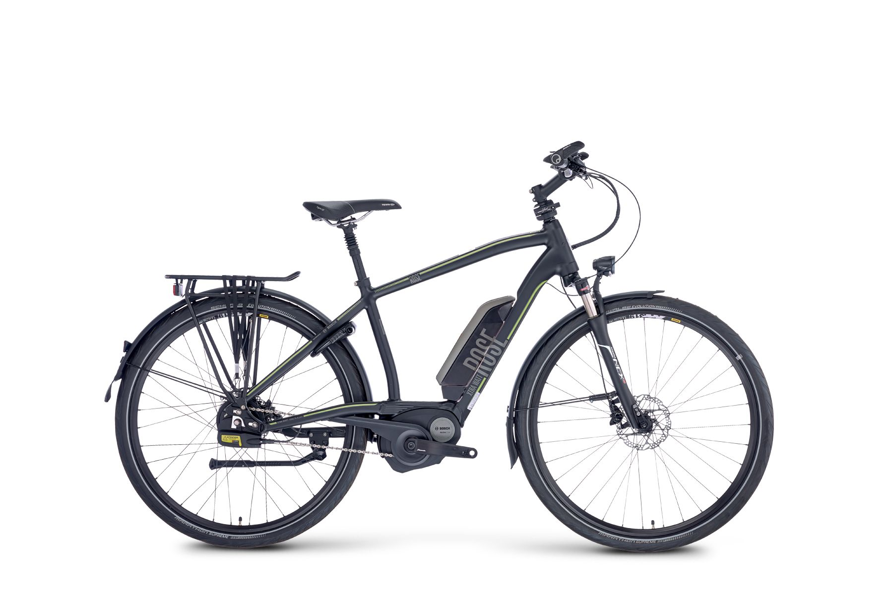 ROSE ROSE e-bike Xtra Watt 4 Men 400WH showroom bike | City