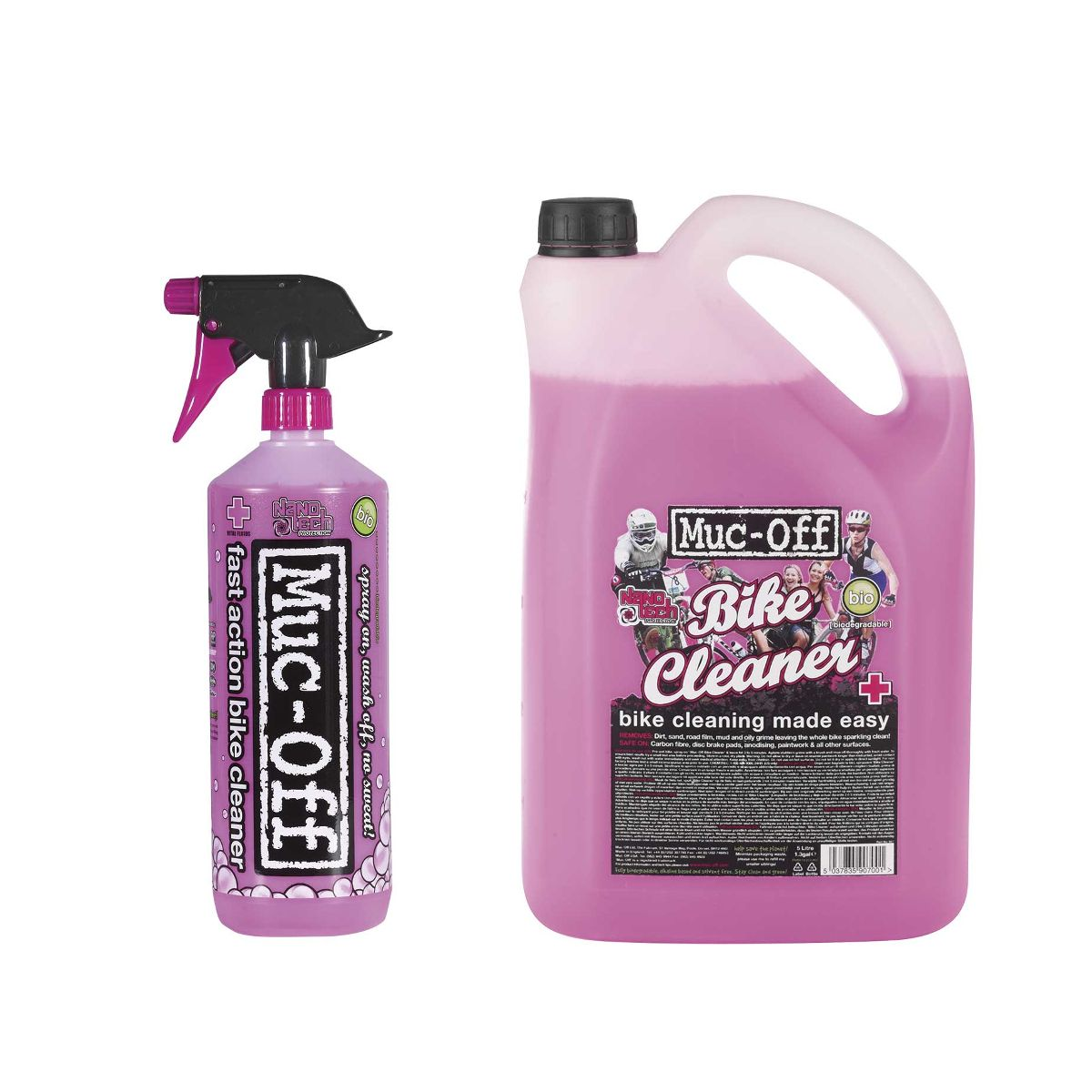 Muc-Off Bike Cleaner set offer 1 litre + 5 litre bottle | polish_and_lubricant_component